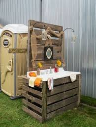 wedding porta potty wedding almost like home almost how to decorate a porta