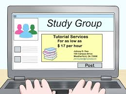 Sample Resume For Tutors by How To Advertise To Be A Tutor 13 Steps With Pictures Wikihow