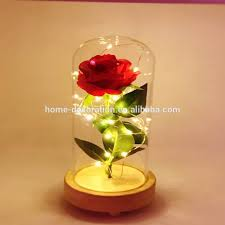 Forever Rose In Glass Dome Led Glass Dome Led Glass Dome Suppliers And Manufacturers At