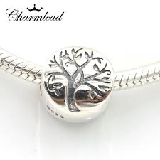 bracelet charm beads silver images Fits pandora charms bracelet 925 sterling silver beads life tree jpg