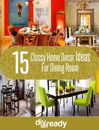 classy home decor ideas for dining room