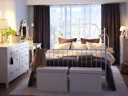 leirvik bed with hemnes dressers bedroom pinterest laundry
