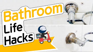 6 Brilliant Bathroom Hacks by 16 Bathroom Life Hacks Sharehows Youtube