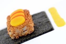 cuisine moleculaire recette filets de poissons aux carottes et sa sauce épicée cuisine moléculaire