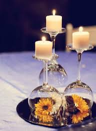 used wedding centerpieces centerpiece wine glass 12 wedding centerpiece ideas from