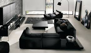 black livingroom furniture black is the new white sophisticating your room without spooking