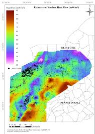 Map Of New York And Pennsylvania by Integrating Geothermal Energy Use Into Re Building American
