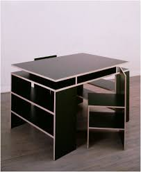 Black Desk And Chair Donald Judd Black Finland Color Plywood Color Pinterest