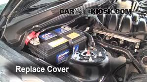 mustang battery how to jumpstart a 2005 2009 ford mustang 2006 ford mustang gt