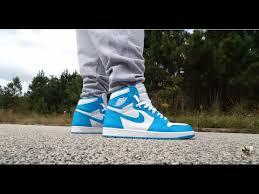 powder blue air jordan 1 retro high og unc u0027powder blue u0027 review and on feet