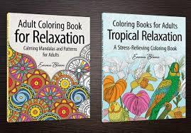 coloring book series cover design pix bee design
