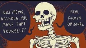 Spooky Scary Skeletons Meme - funny pictures spooky scary skeletons funny clone