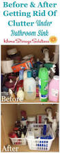 How To Organize Under Your Bathroom Sink - 2740 best organizing tips images on pinterest home storage