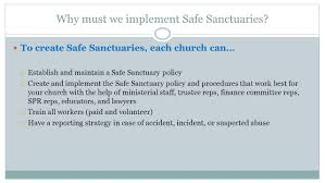 creating safe sanctuaries in the north georgia conference of the
