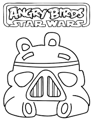 angry birds star wars print free coloring pages art