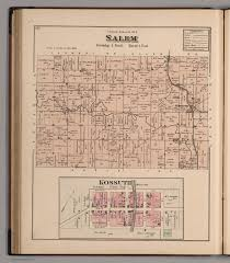 Los Angeles County Plat Maps by Salem Township Auglaize County Ohio Kossuth David Rumsey