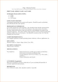 government job resume format federal government employee example resume sample template 791 employment history resume resume writing guide how to make an sample employment resume