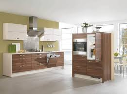 Nobilia Contemporary Kitchen Wood Veneer Style 802 Nobilia
