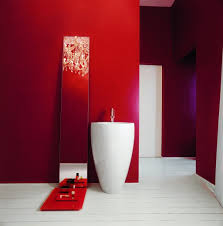 red bathroom ideas bathroom decor
