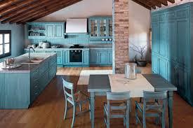 cuisine turquoise style shabby chic en bleu 20 idées pour vous inspirer