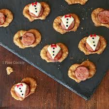 tuxedo appetizers 1 fine cookie