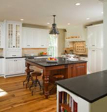 Traditional Dark Wood Kitchen Cabinets Belgium Bluestone Countertop Kitchen Traditional With Hand Made