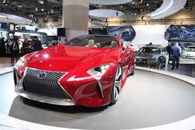 lexus toronto auto show 13 reasons to visit the 2013 canadian international auto show