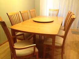 Maple Dining Room Table And Chairs Maple Dining Room Table And Chairs Wormy Maple Live Edge Slab