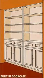How To Install Built In Bookshelves by How To Build A Recessed Wall Unit American Hardwood Information