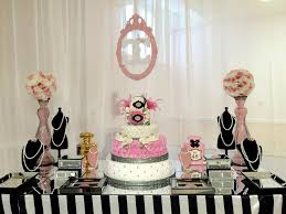modern baby shower themes modern chic chanel baby shower baby shower ideas themes