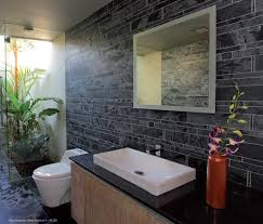 marble tile fireplace bathroom contemporary with stone mosaic