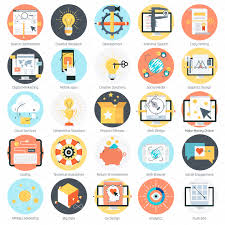 cool search engine optimization icon set business computer