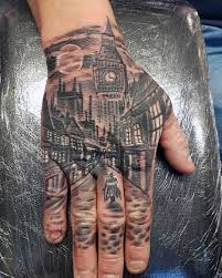 40 unique hand tattoos for men manly ink design ideas