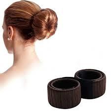 hair bun accessories aliexpress buy hair bun maker donut former foam twist