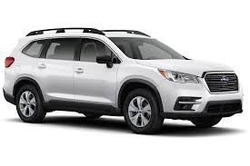 subaru cars white presenting the 2019 subaru ascent suv subaru