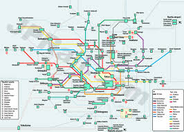 Tokyo Metro English Map by Guide To Take Trains In Tokyo How To Choose The Best Deal And The