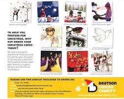 christmas cards beatson cancer charity