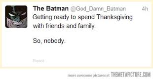 batman on thanksgiving the meta picture