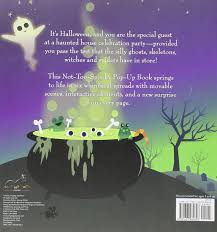 silly haunted house a not too spooky pop up book janet lawler