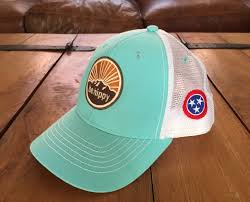 Tennesse Flag Youth Mountain Logo Hat With Tennessee Flag Be Hippy
