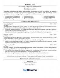 cover letter for insurance agent insurance agent resume sample insurance agent resume sample