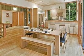Kitchen Bar Lights Kitchen Modern With Light Wood Dining Table - Light wood kitchen table
