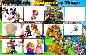 Mario Memes - super mario controversy meme by jyxia on deviantart