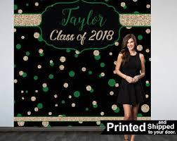 Personalized Photo Backdrop Graduation Photo Backdrop Congrats Grad Personalized Photo