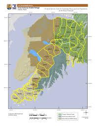 Alaska Population Map by Mountain Goat Kenai U S Fish And Wildlife Service