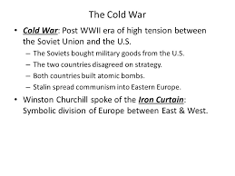 Winston Churchill And The Iron Curtain American History Chapter 25 1 The Iron Curtain Falls On Europe