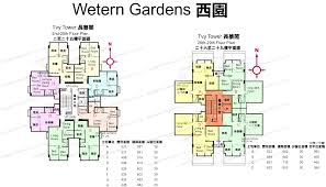Garden Floor Plan by Floor Plan Of Western Garden Gohome Com Hk