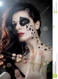 queen of spades makeup google search halloween pinterest