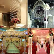 Diamond Beaded Curtain by Beaded Curtain Wedding Decorate The House With Beautiful Curtains