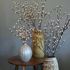 decorative branches with lights white twigs with lights eventsbygoldman com